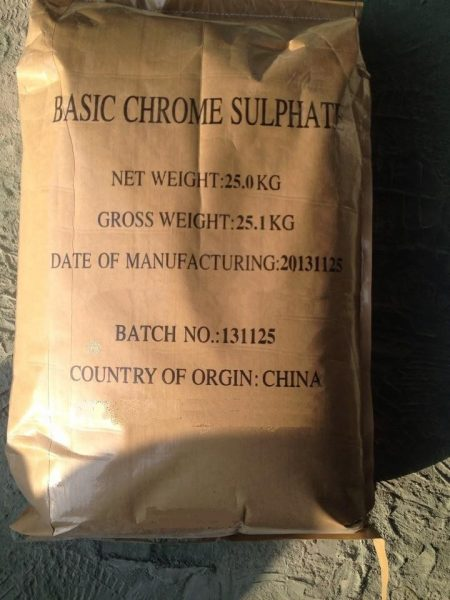 Basic Chrome sulphate