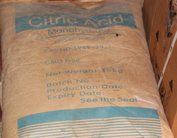 Citric Acid 99% Monohydrate/Anhydrous