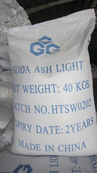 Soda Ash 99.2% Light/Dense